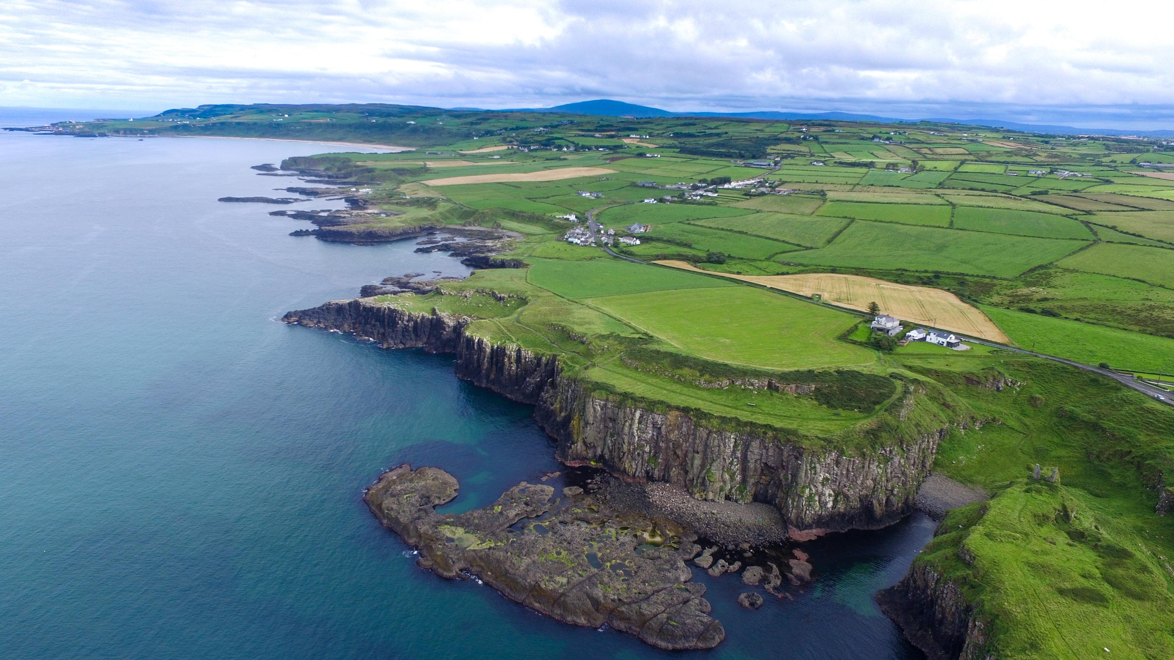Nordirland von oben