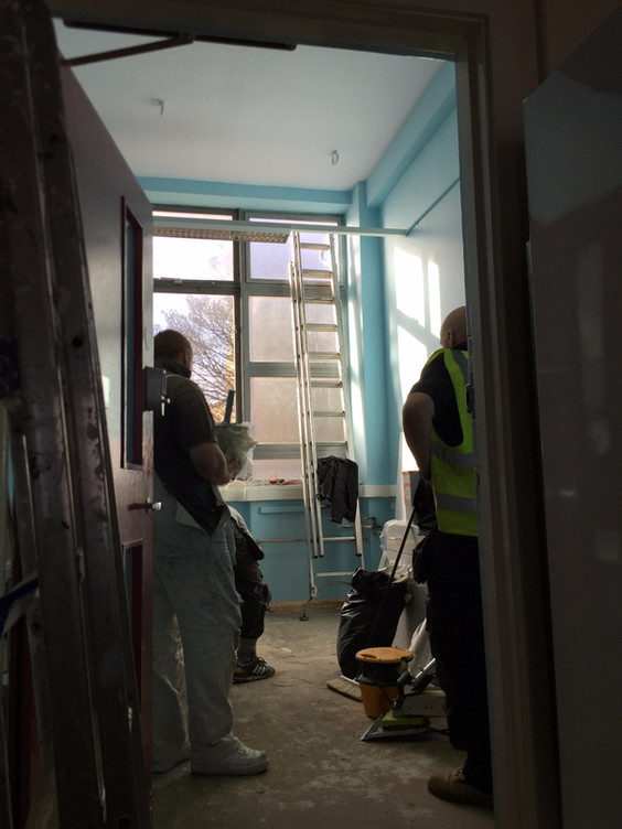 Lab renovation starts