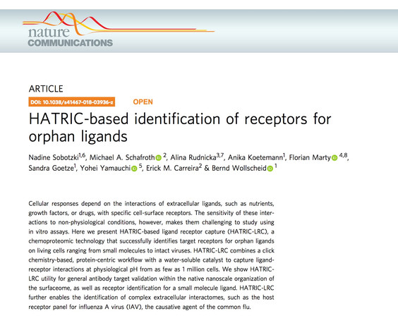 New publication in Nature Communications!