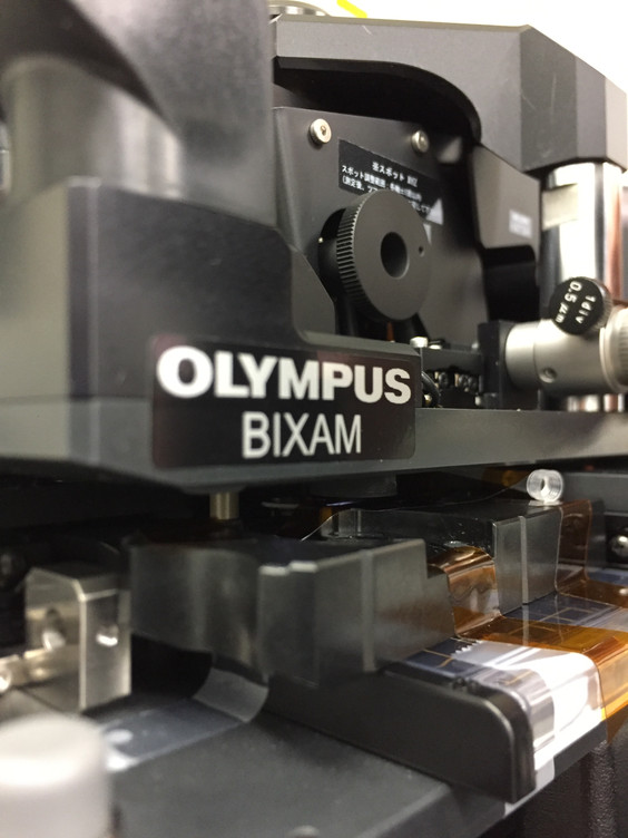 Olympus BIXAM - virus entry