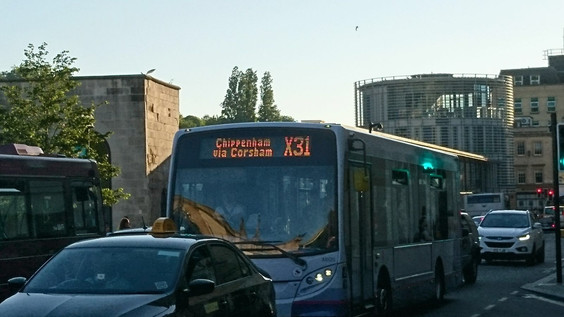 X31 bus spotted on the streets of Bristol