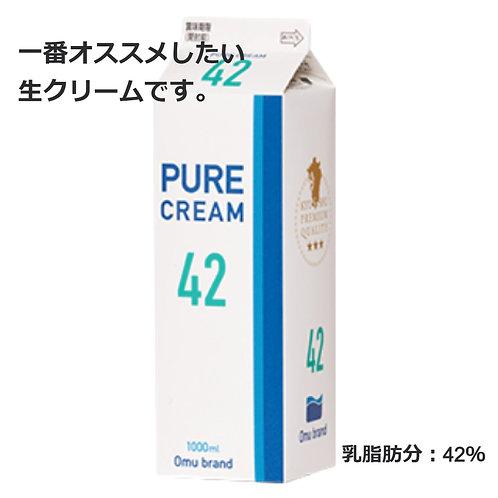 生クリーム ピュア42 / 1L