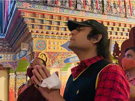 Maharishi Aazaad announced the biggest International film THE BUDDHIST, based on Buddha and Buddhism