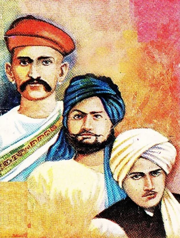 तीनों चाफेकर भाइयों