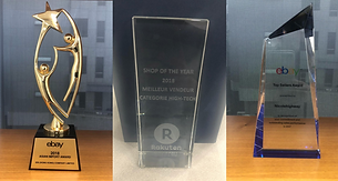 Awards from our marketplace partners