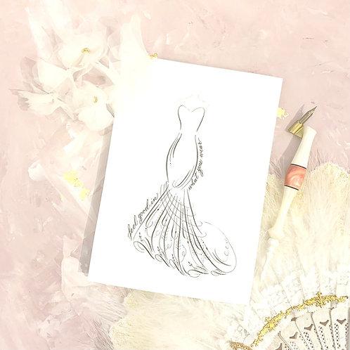 Calligraphy Art Lv 1.5 --- Elegant Couture