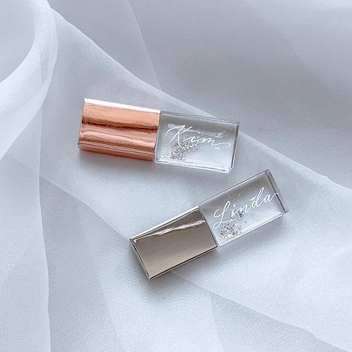 Transparent Glam USB