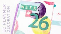 Planner Decoration: Let's Plan Week 24