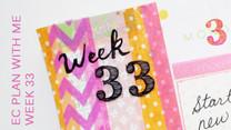 Let's Plan Week 33