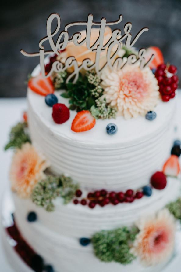 Fruchtige Hochzeitstorte