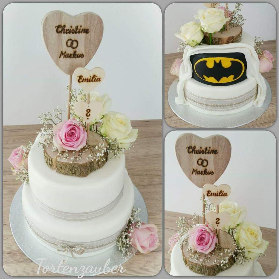 Hochzeitstorte Batman