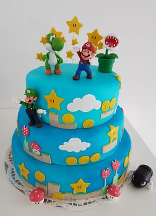 Super Mario Torte Geburtstag