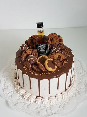 Schoko Geburtstagstorte