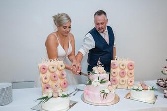 Rose trifft weiß, Hochzeit Sweet Table .jpg