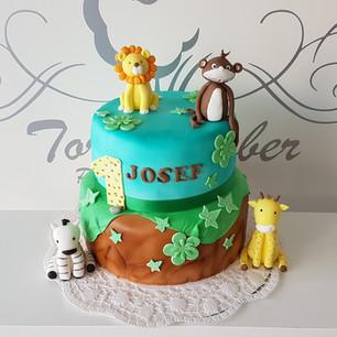 Geburtstagstorte Jungle