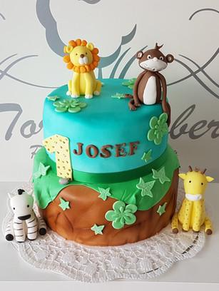 Tierische Geburtstagstorte