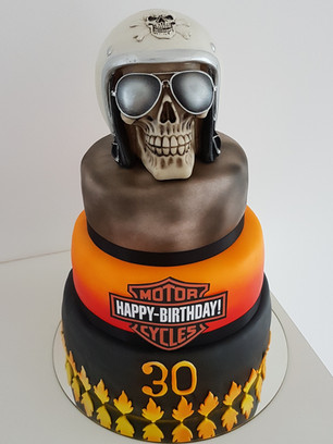 Harley Davidson Geburtstagstorte