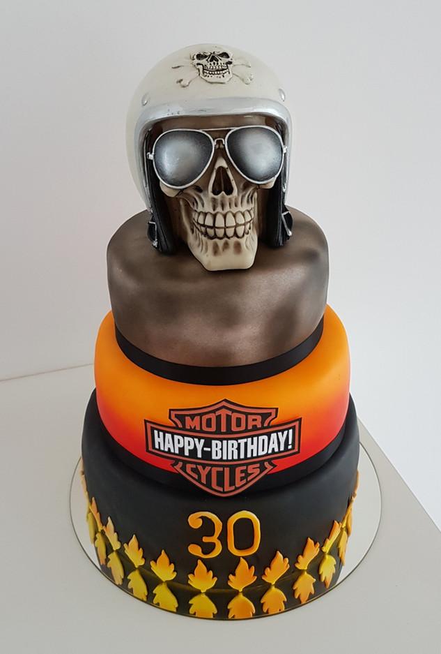 Harley Davidson Torte Geburtstag