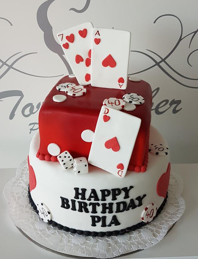 Vegas Torte Geburtstag