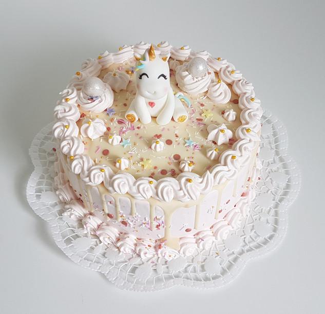 Einhorn Geburtstagstorte