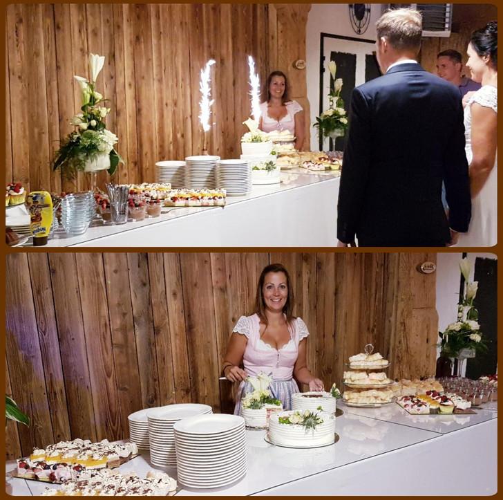 Tortenbuffet Hochzeit