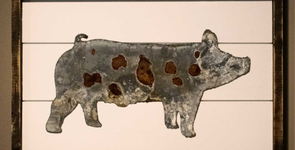 Pig - Framed Shiplap