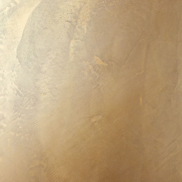 gold metallic wax wall furniture