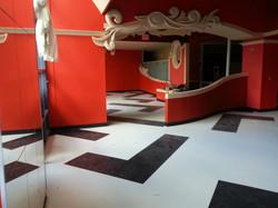 new floor, new paint