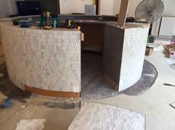 finishing up the tile
