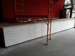 textured bar