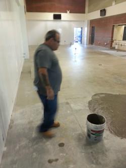 new flooring going in