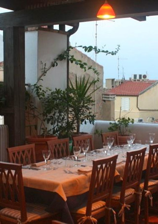 Un tavolo sul Balcone