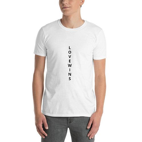 Love Wins Short-Sleeve Unisex T-Shirt