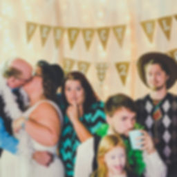 Photo Booth During Wedding Reception