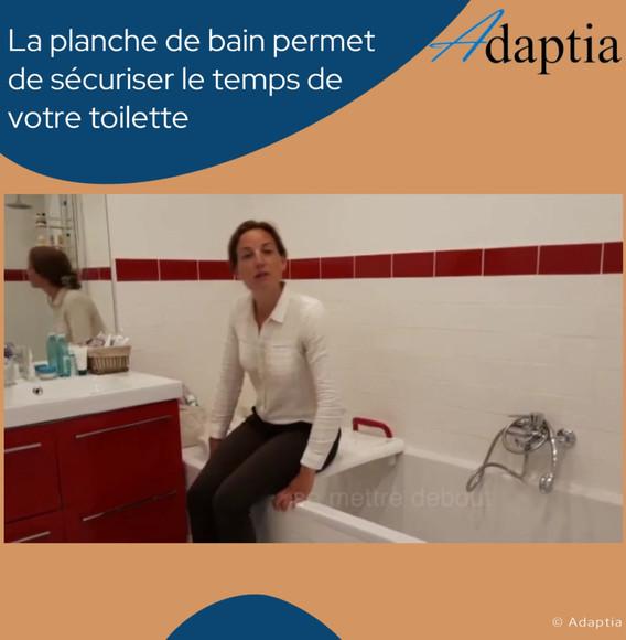 Chronique objet utile - planche de bain.