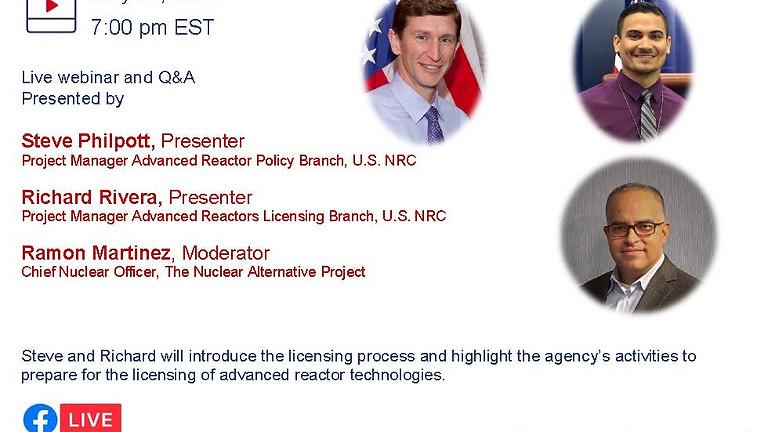 Licencias para el futuro: tecnologías avanzadas de reactores
