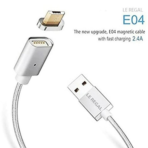 Android magnetic micro fast usb cable