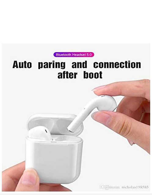 Wireless Bluetooth Airpods with touch sensor