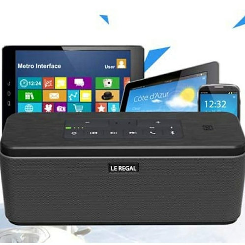 30W Portable Wireless Bluetooth Speaker With Power Adapter Deep Bass Stereo.