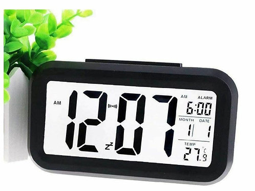Large LCD Display Digital Alarm Clock