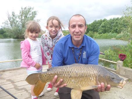 """Killer""seasonal fishing tips from Brian Bailey at Grove Farm Fishery"
