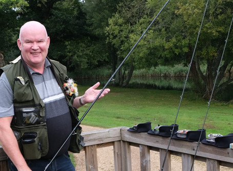 Rod Raffle winner receives his ultimate rod selection