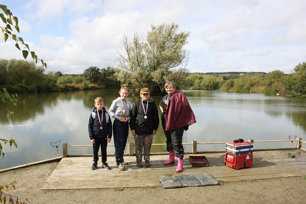 Annual Fishing for Schools Match at Hadlow's Grove Farm Fisheries