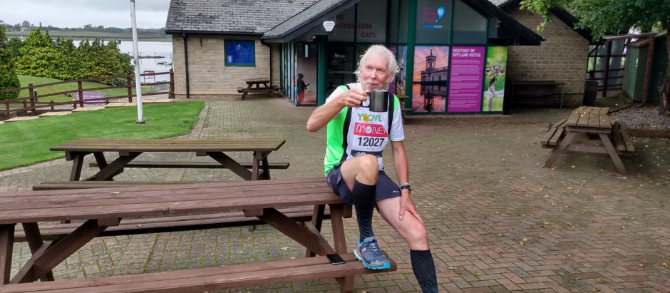 Charles Jardine runs marathon around Rutland Water and reels in over £4,000 for Fishing for Schools