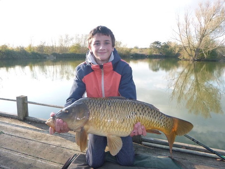 Warren White shows us the way with his fabulous sessions at Hadlow college Fishery