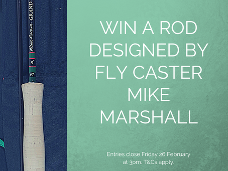 Win a Rod designed by fly caster Mike Marshall