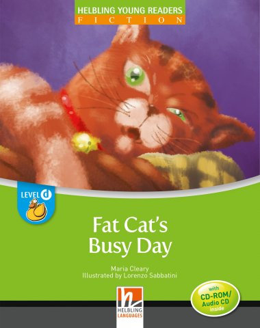 Fat Cat's Busy Day + CD/CDR