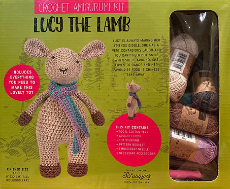 Lamb Crochet Kit