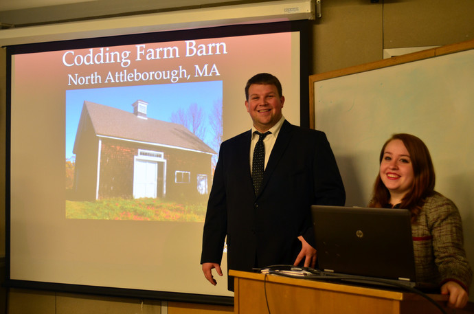 Student Presentations for the Codding Farm Barn Project