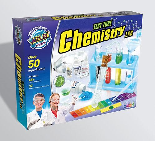 التحدي والابتكار : مختبر الكيمياء